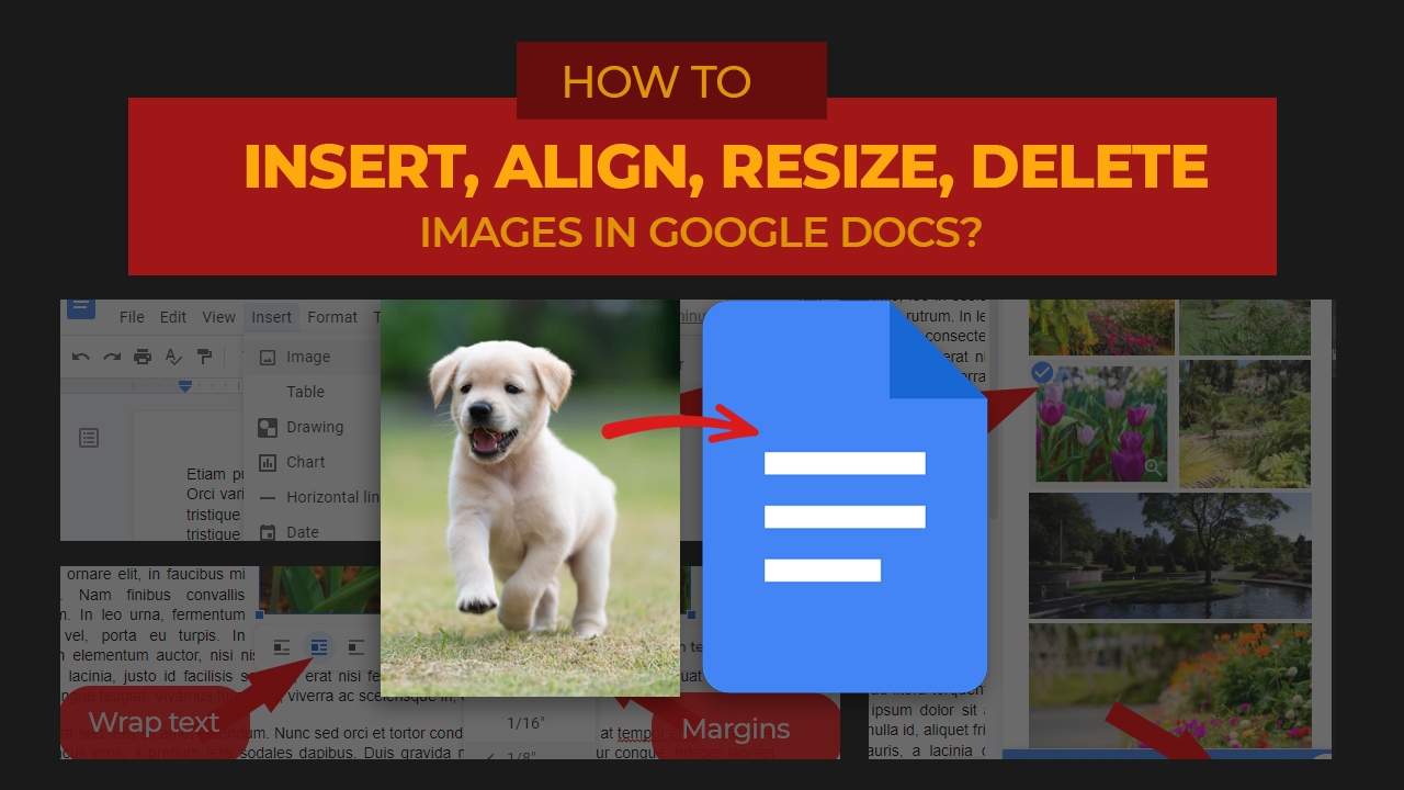 Jess Tura insert image delete resize aligngoogle docs 2