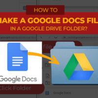 Jess Tura Google Docs file inside a folder