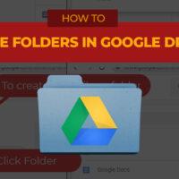 Jess Tura Google Drive make new folder